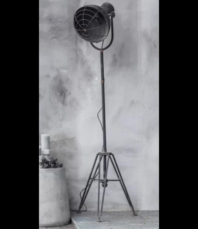 # C154 - staande lamp metaal - 48 x 41 x 175 cm - wordt niet verzonden/alleen afhalen