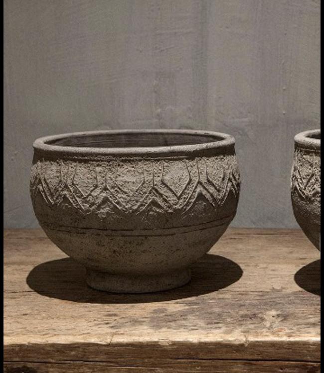 # Nepal Pottery | Daya | Large - per stuk - 26 x 26 x 20 cm