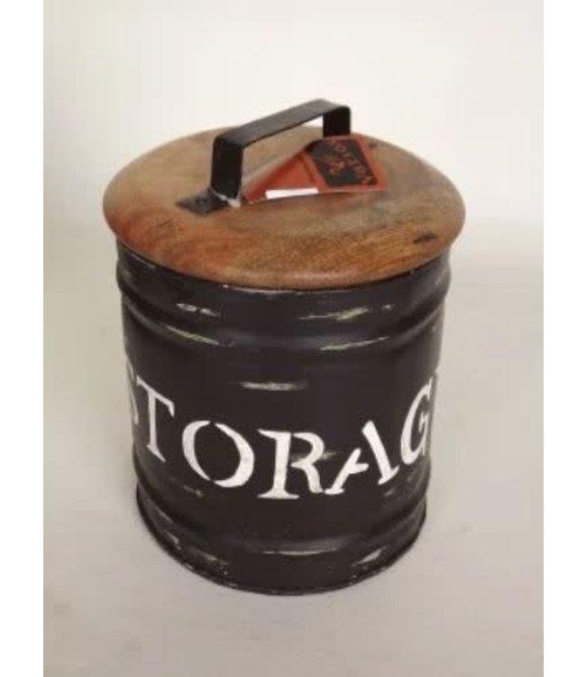 # R769 - Storagebox medium - metaal - 20 x 25 cm
