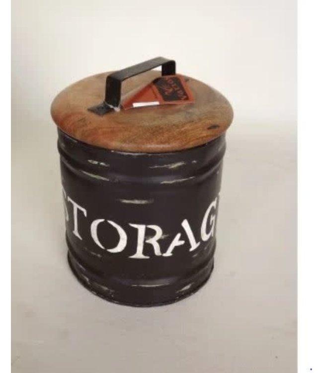 # R770 - Storagebox Large- metaal - 25 x 32 cm