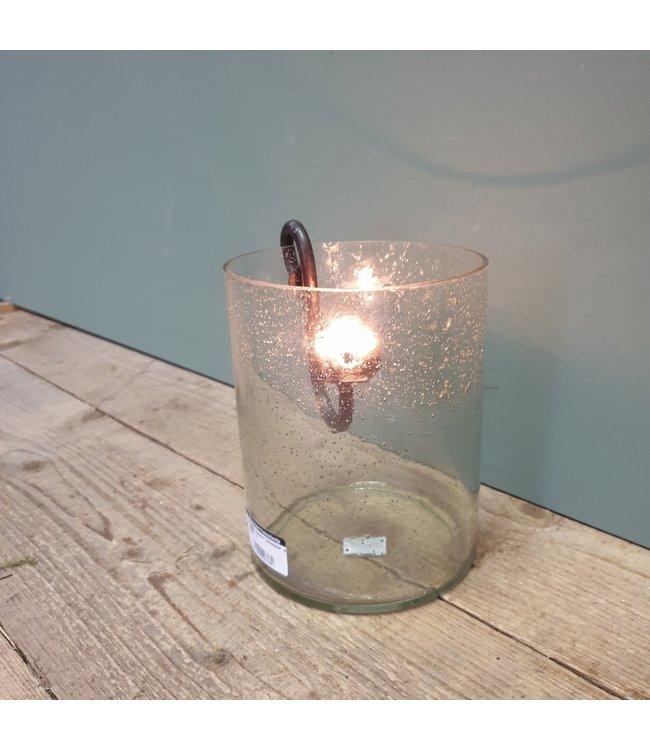 """# Cylinder """"bubbelglas"""" nr. 3 - 15 x 15 x 20 cm"""