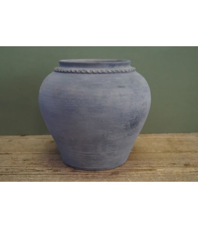 # B298 - Kruik - claypot - steen - 20 x 20 x 24 cm
