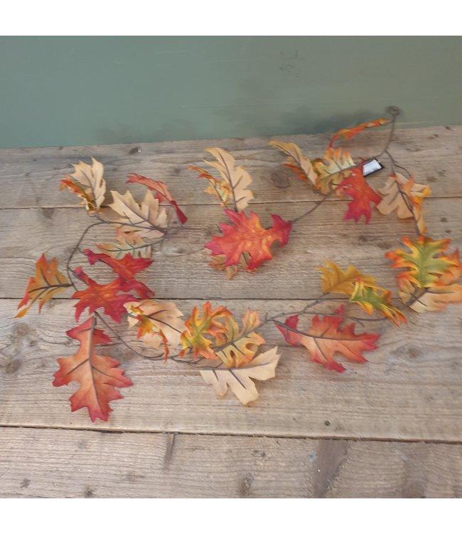 # Q090 - Herfstguirlande rood - 130 x 20 x 10 cm