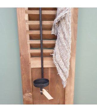 # Luikhanger - waxine - metaal- 53 x 9 x 7,5 cm