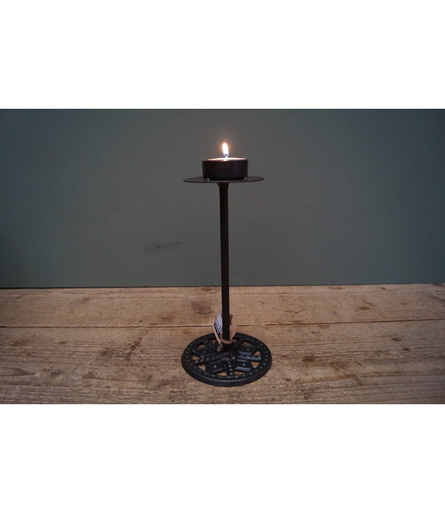 # Iron cup candlestand S - 23 cm