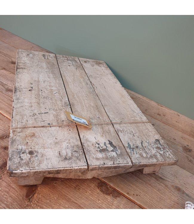 # Houten bajot - M -- 18 - 60 x 37 x 7 cm