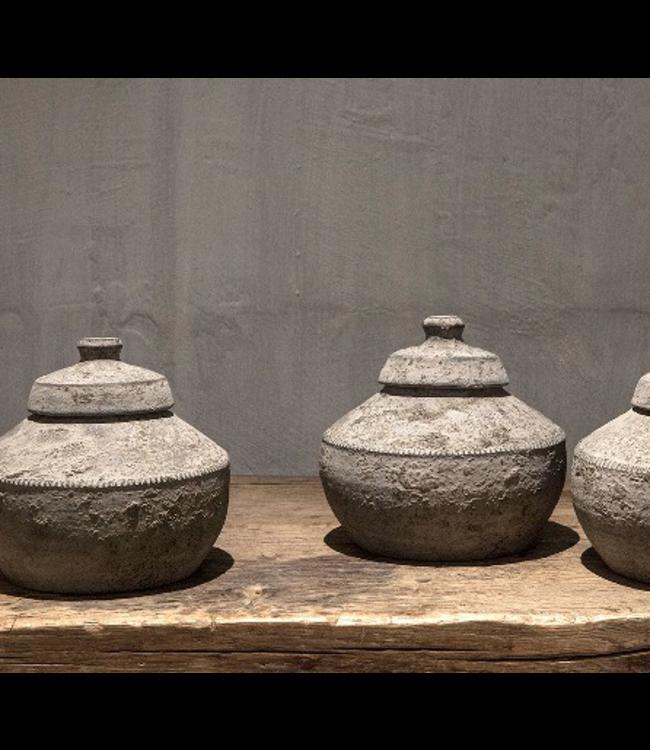 # Nepal Pottery   Leela - per stuk - 20 x 20 x 20 cm