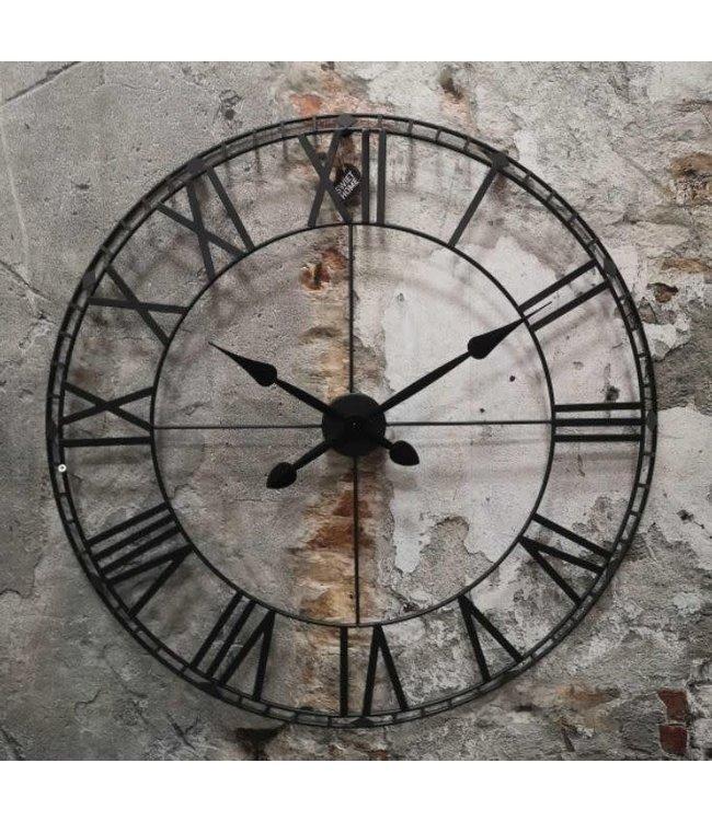 # Metalen klok - 80 x 4 cm - wordt niet verzonden/alleen afhalen