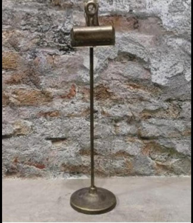 # Vinci Clip op voet 9 x 9 x 38 cm