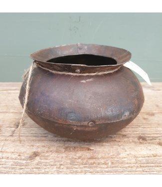 # Metalen kookpot - 10 - 20 x 20 x 13 cm