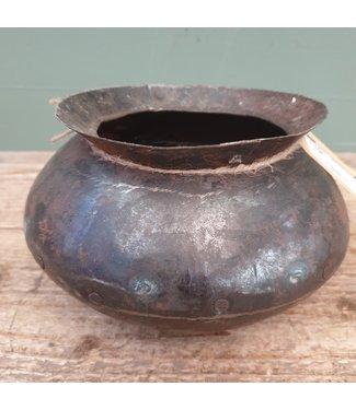 # Metalen kookpot - 1 - 20 x 20 x 13 cm