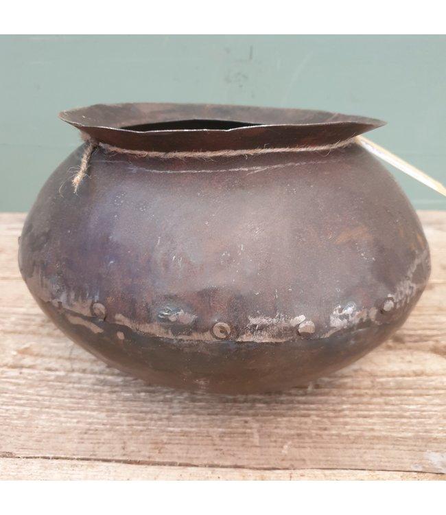 # Metalen kookpot - 5 - 24 x 24 x 15 cm