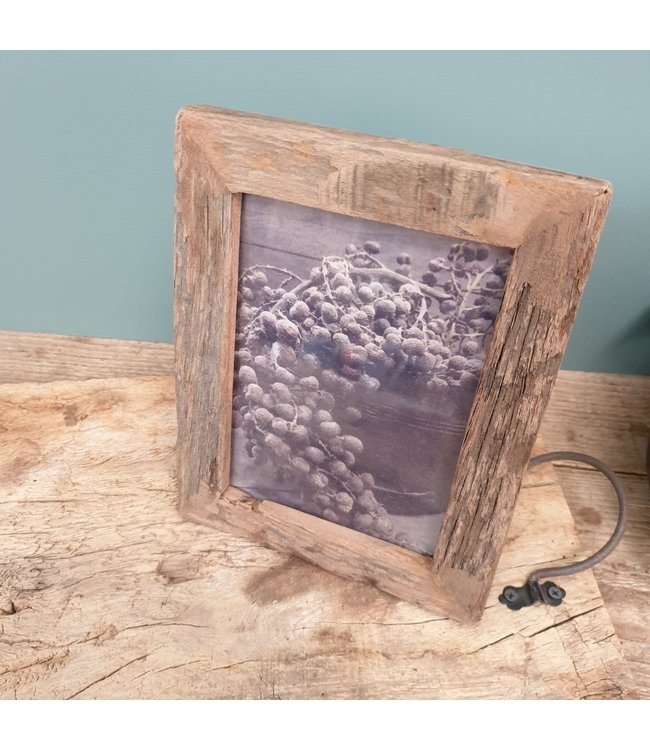Resto wood photoframe big - 30 x 2 x 35 cm
