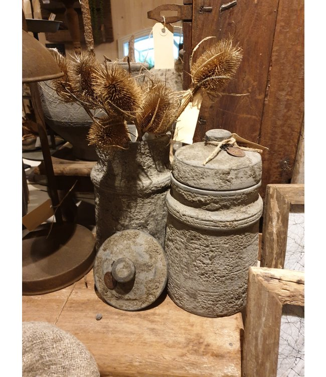 # Nepal Pottery - Thamel set/2 - 13 x 13 x 27 cm