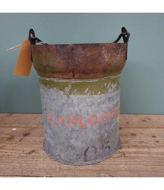 # Iron bucket bomb -- 20 - 22x22x23 cm