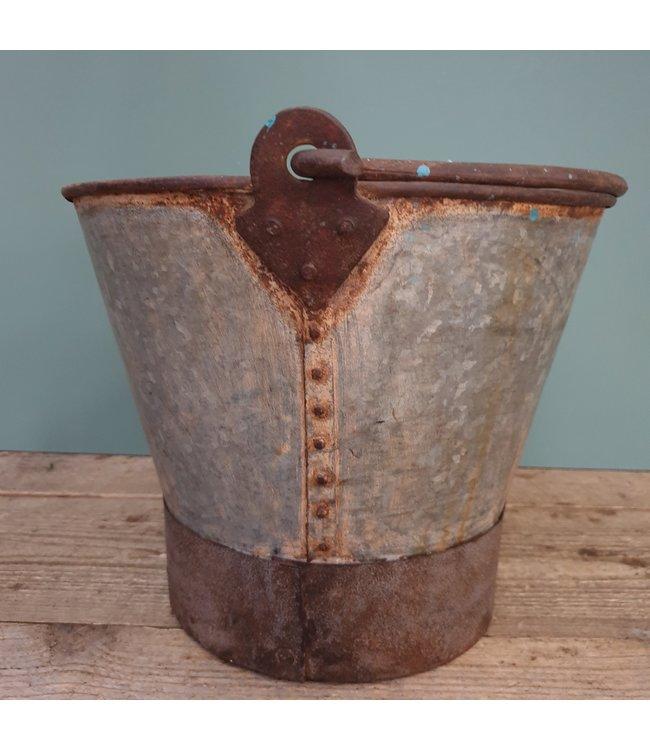 # Old iron bucket - 12 - 37 x 33 x 30 cm