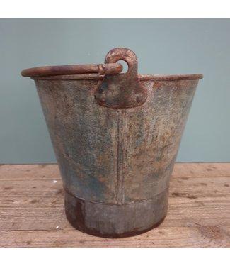 # Old iron bucket - 13 - 35 x 28 x25 cm