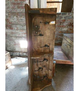 # Houten kapstok - regaal - 120 cm  - alleen afhalen/wordt niet verzonden