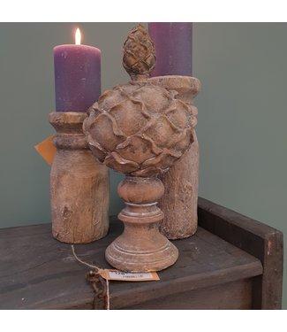 Ornament ro Jaylin S grijs-L14,5B14,5H30,5CM