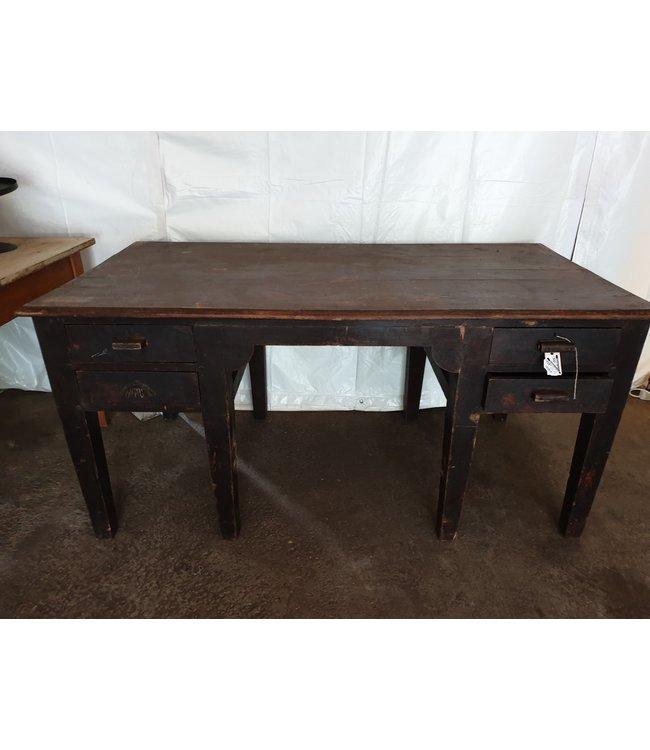 @ Robuust houten bureau - 160 x 80 x 75 cm- wordt niet verzonden/alleen ophalen