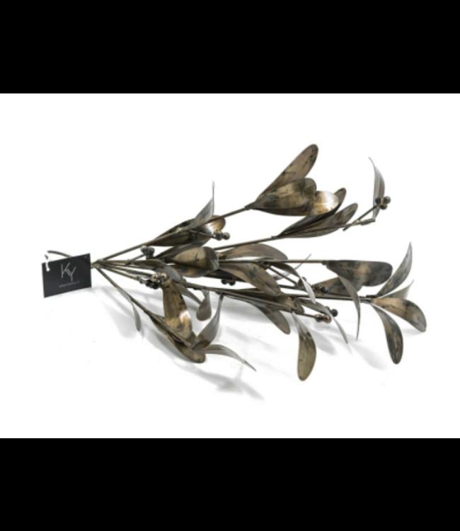 Metalen mistletoe - 39x20x20cm