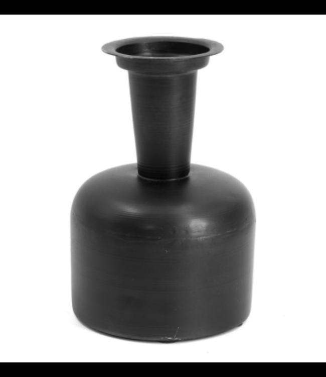 Metalen vaasje - 8x12x17.5cm
