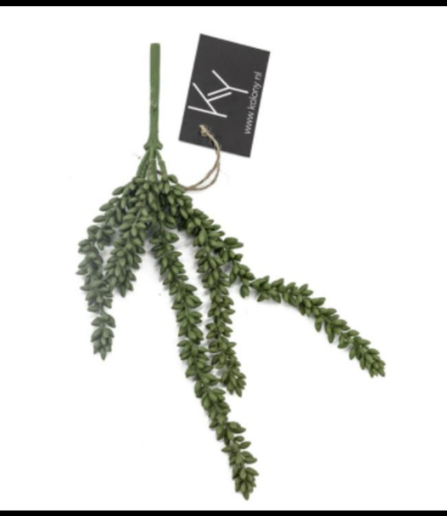 Erwten plant - kunst - 10x2,5x33cm