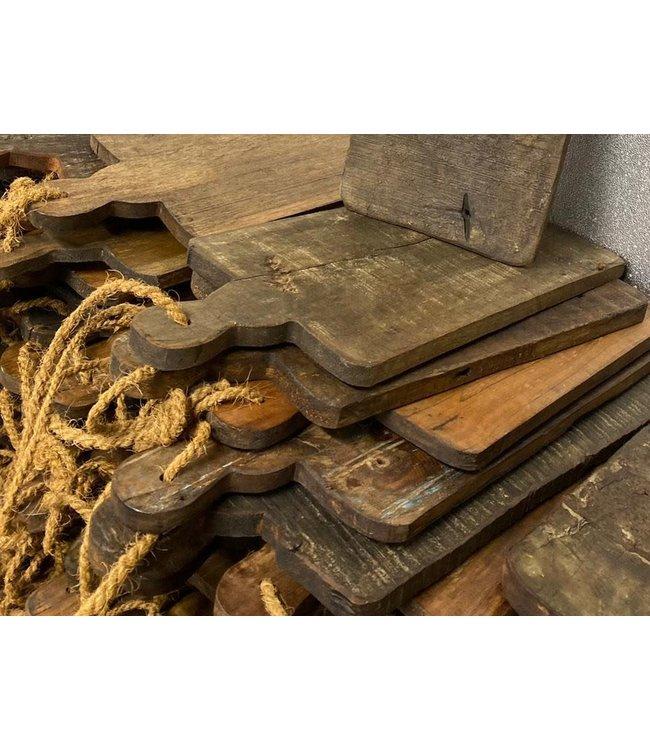 Broodplank oud hout - mix - per stuk
