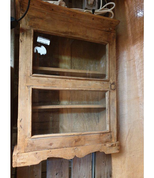 ( B198 - Wand vitrinekastje - wordt niet verzonden/alleen afhalen