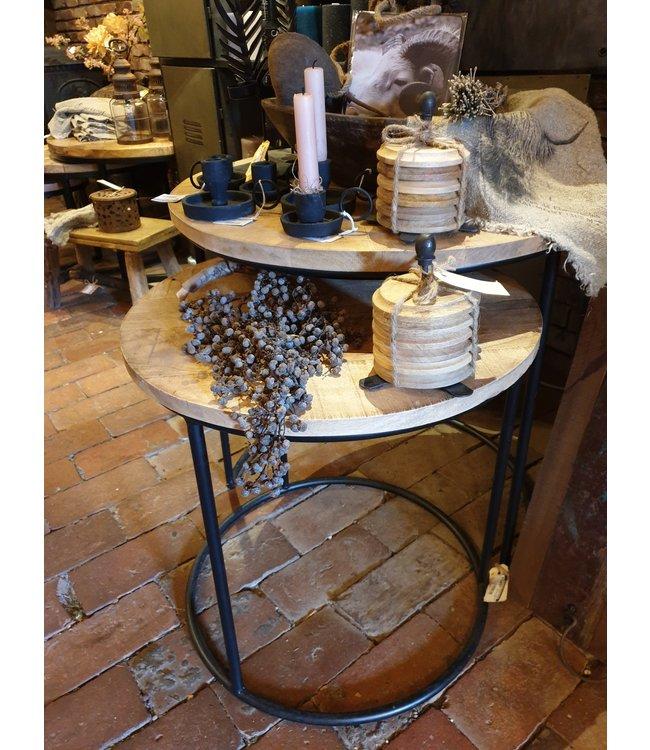 @ A571 - mero set 2 tafels 60 en 50 - wordt niet verzonden/alleen afhalen