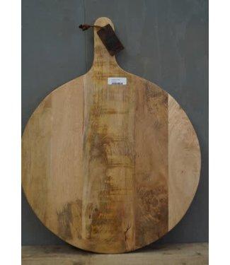 D037 - Snijplank - mangohout - 60 x 50 x 3,5 cm