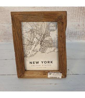 # I558 - Fotolijst - oud hout - 19 x 2 x 23,5 cm (binnenkant 13 x 17 cm)