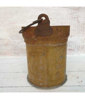 Iron bucket bomb -- 24 - 23 x 20 x 24 cm
