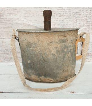 Iron bottle flask - 13 - 21 x 10 x 26 cm