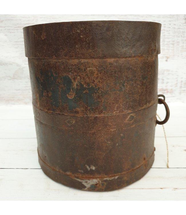 Metalen mana pot - 2 - 20 x 20 x 22 cm