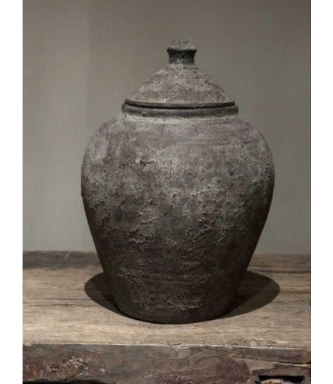 # Nepal pottery - damak - 27 x 27 x 38 cm