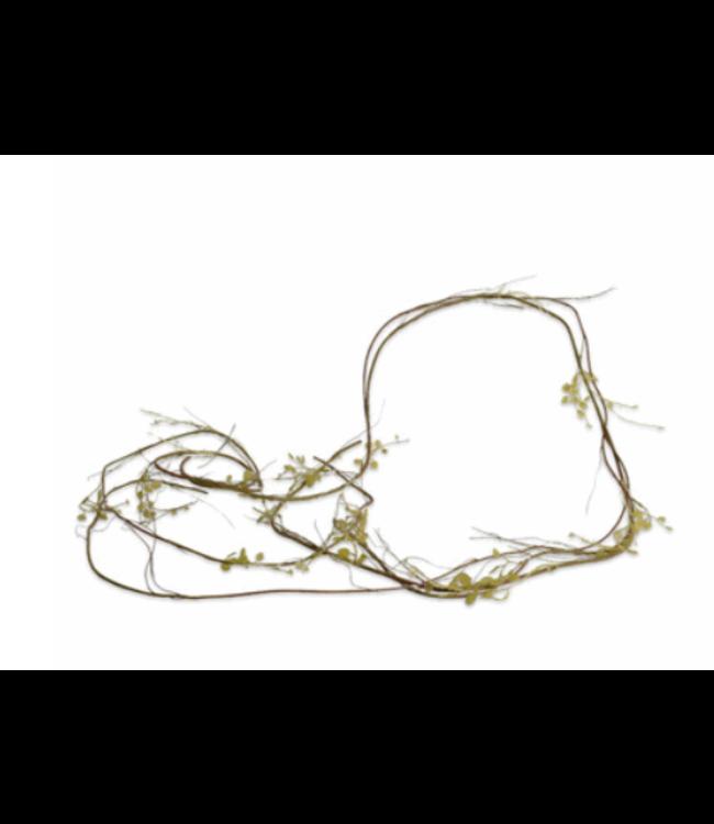 @ GUIRLANDE HOUT GROEN - kunst - 160 cm