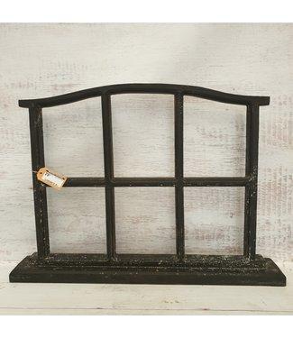 GG - zwart houten raam - 68 x 10 x 49 cm
