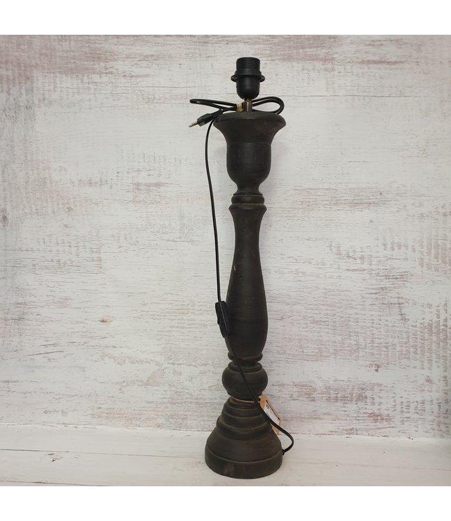 GG - lampvoet - zwart hoog - 15 x 15 x 68 cm