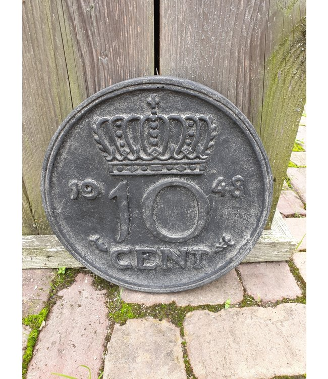 @ GG - Munt - 10 cent - wandhanger