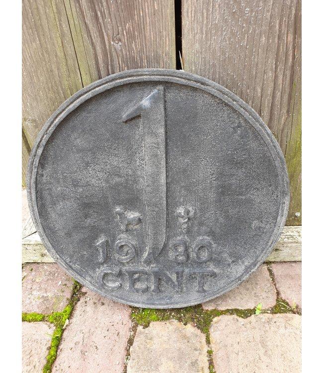 @ GG - Munt - 1 cent - wandhanger