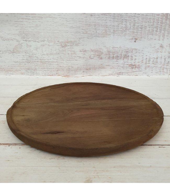 @ GG - Schaal - hout - 35 x 35 x 2 cm