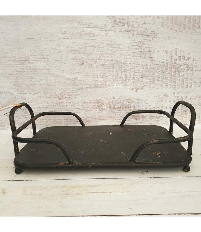 @ GG - Dienblad rh Garson S zwart - 27 x 14 x 12 cm - metaal - excl. accessoirres