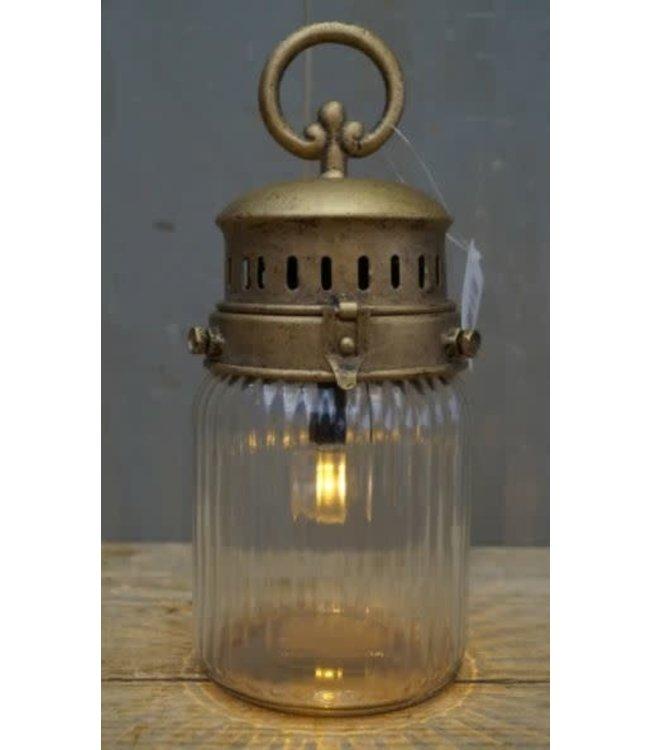 *Z016 - Led-lamp - op batterij - 10,5 x 10,5 x 26,5 cm