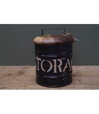 # R768 - Storagebox Small - metaal - 16 x 22 cm