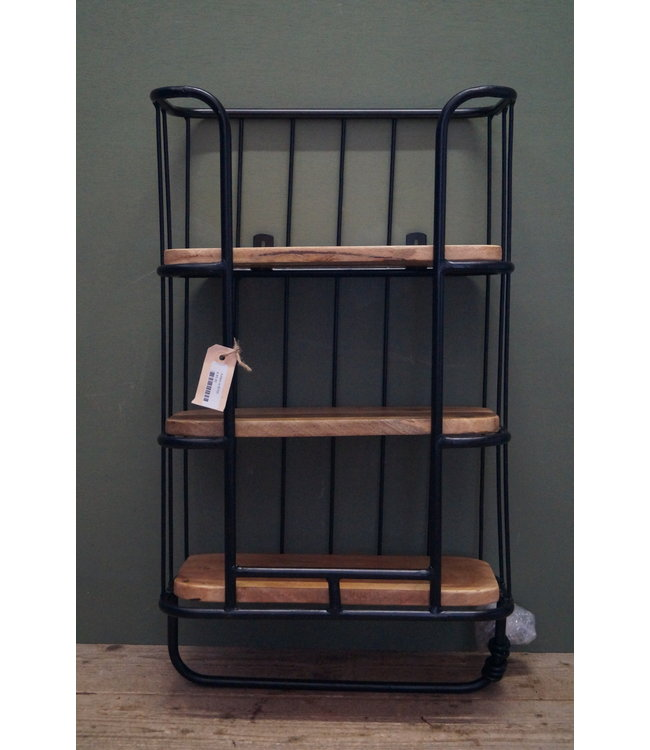 # B705 - wallshelve 3-laag black
