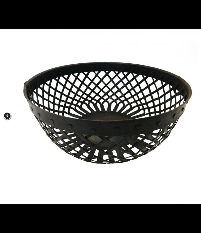 Iron basket M D31 x 11cm