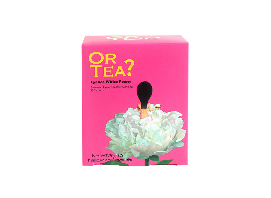 Lychee White Peony - Lychee Flavoured White Tea (20g)