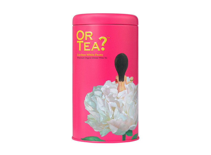 Lychee White Peony - Tin Canister (50g)