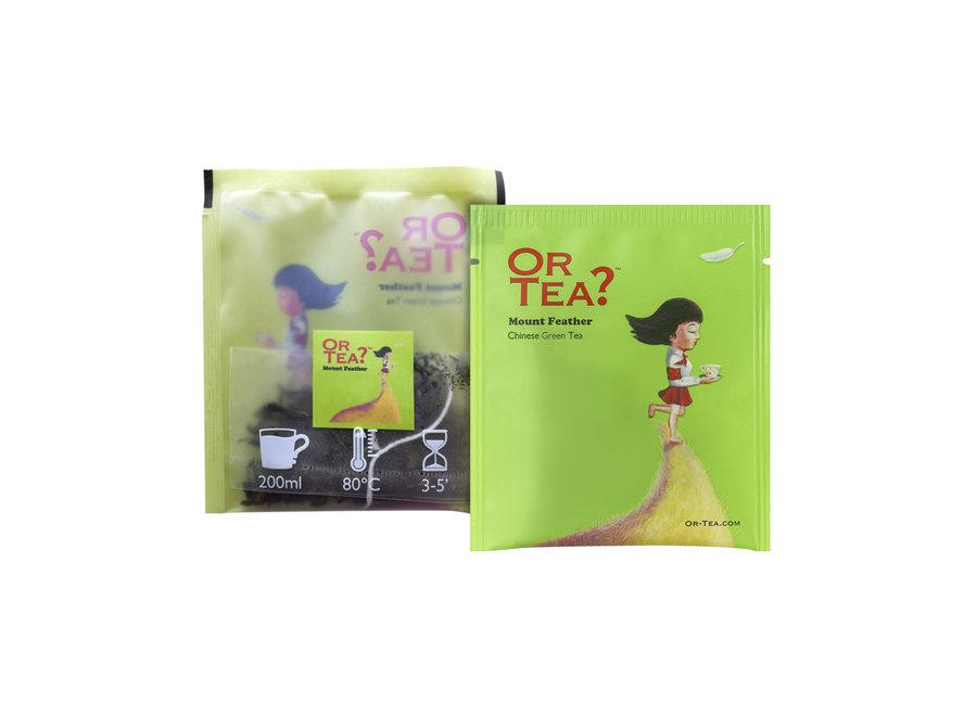 "Mount Feather - Green Tea (20g)   ""Or Tea?™ 有機毛峰山10茶包裝 (毛峰綠茶) 歐洲進口"" BBD: 2021-11-28"